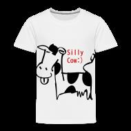 Baby & Toddler Shirts ~ Toddler Premium T-Shirt ~ silly cow