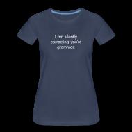 Women's T-Shirts ~ Women's Premium T-Shirt ~ Silent Correction