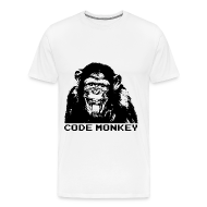 T-Shirts ~ Men's Premium T-Shirt ~ Code Monkey