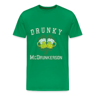 T-Shirts ~ Men's Premium T-Shirt ~ Drunky McDrunkerson
