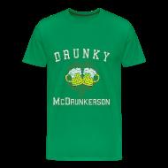 T-Shirts ~ Men's Premium T-Shirt ~ Drunky McDrunkerson