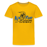 Kids' Shirts ~ Kid's Premium T-Shirt ~ Kids' T-Shirt surfing experience yellow