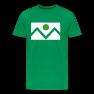 T-Shirts ~ Men's Premium T-Shirt ~ Denver Flag - St. Patrick's Day - Mens