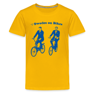 Kids' Shirts ~ Kid's Premium T-Shirt ~ Swedes On Bikes Kids T-Shirt