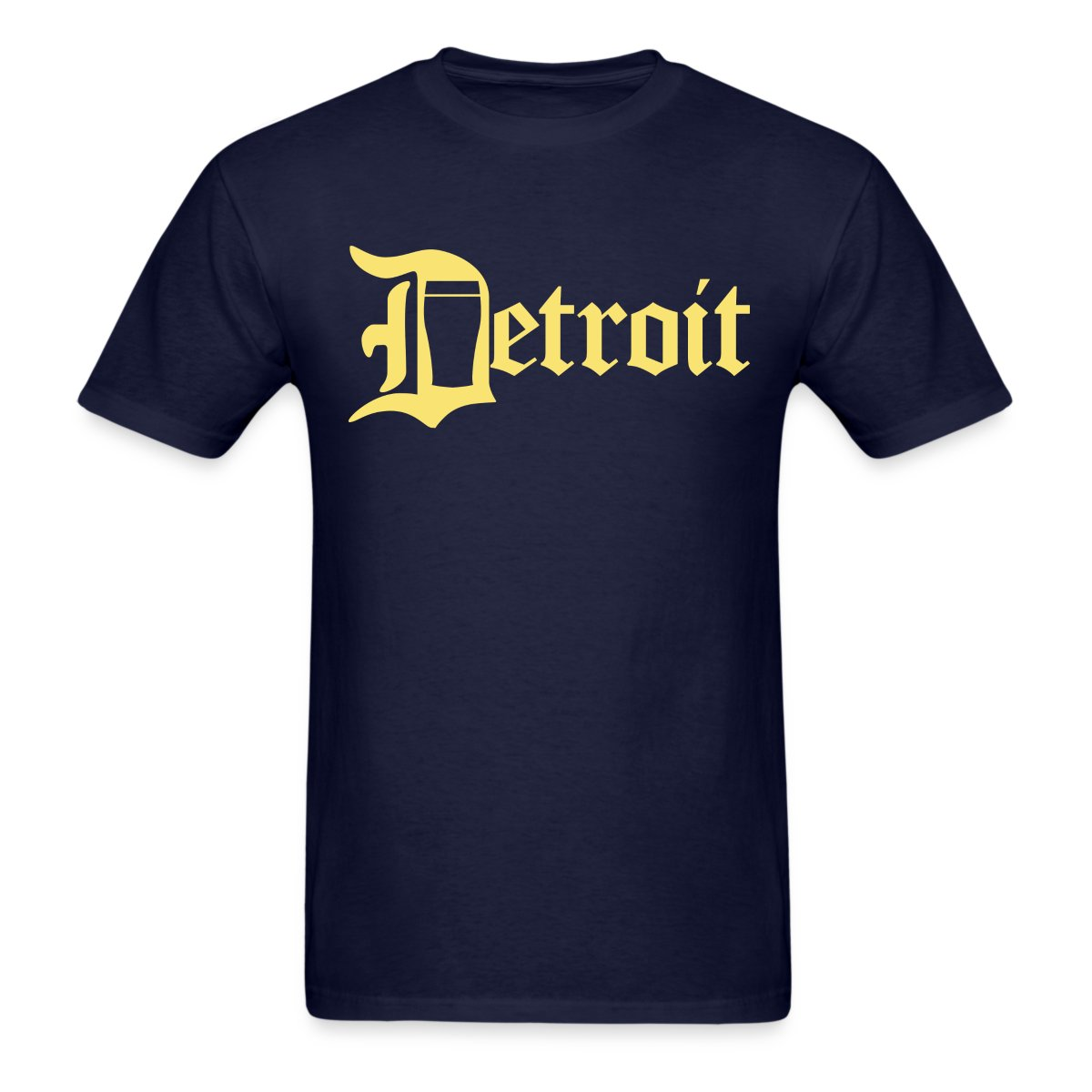 Detroit Pint City Beer Clothing Apparel T Shirt Mens T Shirt