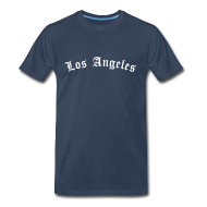 T-Shirts ~ Men's Premium T-Shirt ~ Los Angeles T-Shirt