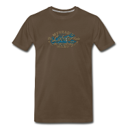 T-Shirts ~ Men's Premium T-Shirt ~ Blue Lobster Radio