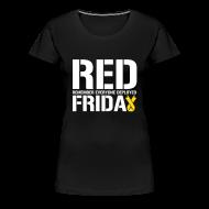 Women's T-Shirts ~ Women's Premium T-Shirt ~ Womens- R.E.D Friday