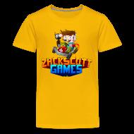 Kids' Shirts ~ Kid's Premium T-Shirt ~ Kart Racer