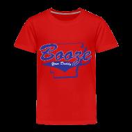 Baby & Toddler Shirts ~ Toddler Premium T-Shirt ~ Booze Your Daddy - Todler(Red)