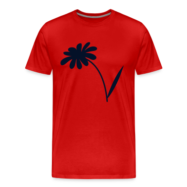 Red simple daisy flower T-Shirts
