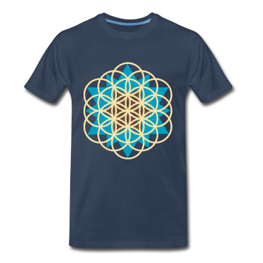 flower of life star T-Shirts