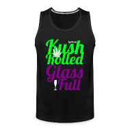 Men ~ Men's Premium Tank Top ~ Kush Rolled Glass Full Tank