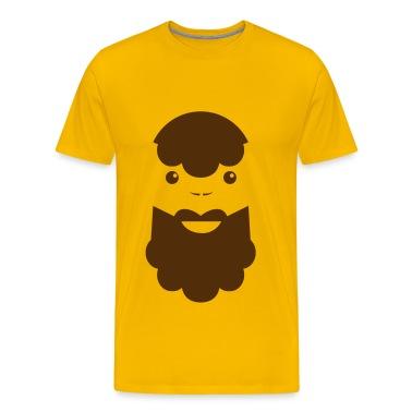 BEARDED MAN T-Shirts