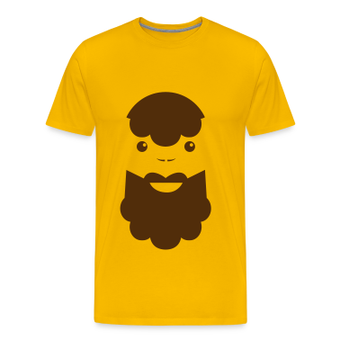 BEARDED MAN T-Shirts