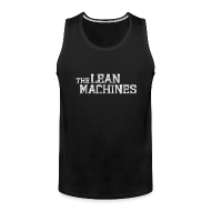Men ~ Men's Premium Tank Top ~ The Lean Machines Tank Top Mens - Black