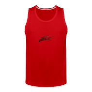 Men ~ Men's Premium Tank Top ~ Mcsportzhawk Hawk Hooded Sweatshirt