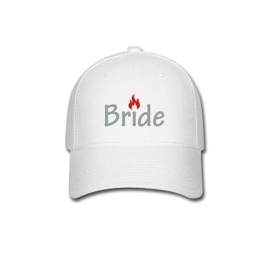 White Hot Bride Caps