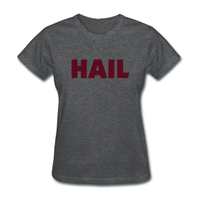 Ladies Hail T - Deep Heather  ~