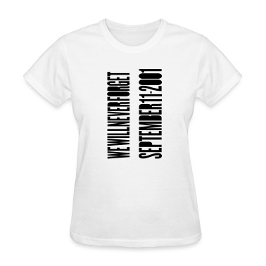 White TWIN TOWERS - SEPTEMBER 11 ATTACKS Women's T-Shirts