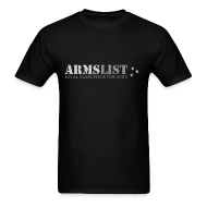T-Shirts ~ Men's Standard Weight T-Shirt ~ ARMSLIST Logo Tee