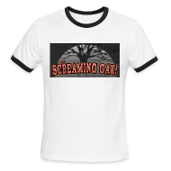 T-Shirts ~ Men's Ringer T-Shirt by American Apparel ~ Left 4 Dead 2: Screaming Oak Roller Coaster