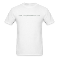 T-Shirts ~ Men's Standard Weight T-Shirt ~ FunkyHouseBeats Lightweight cotton T-Shirt