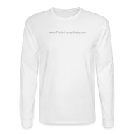 Long Sleeve Shirts ~ Men's Long Sleeve T-Shirt ~ FunkyHouseBeats Long Sleeve Hanes Tee