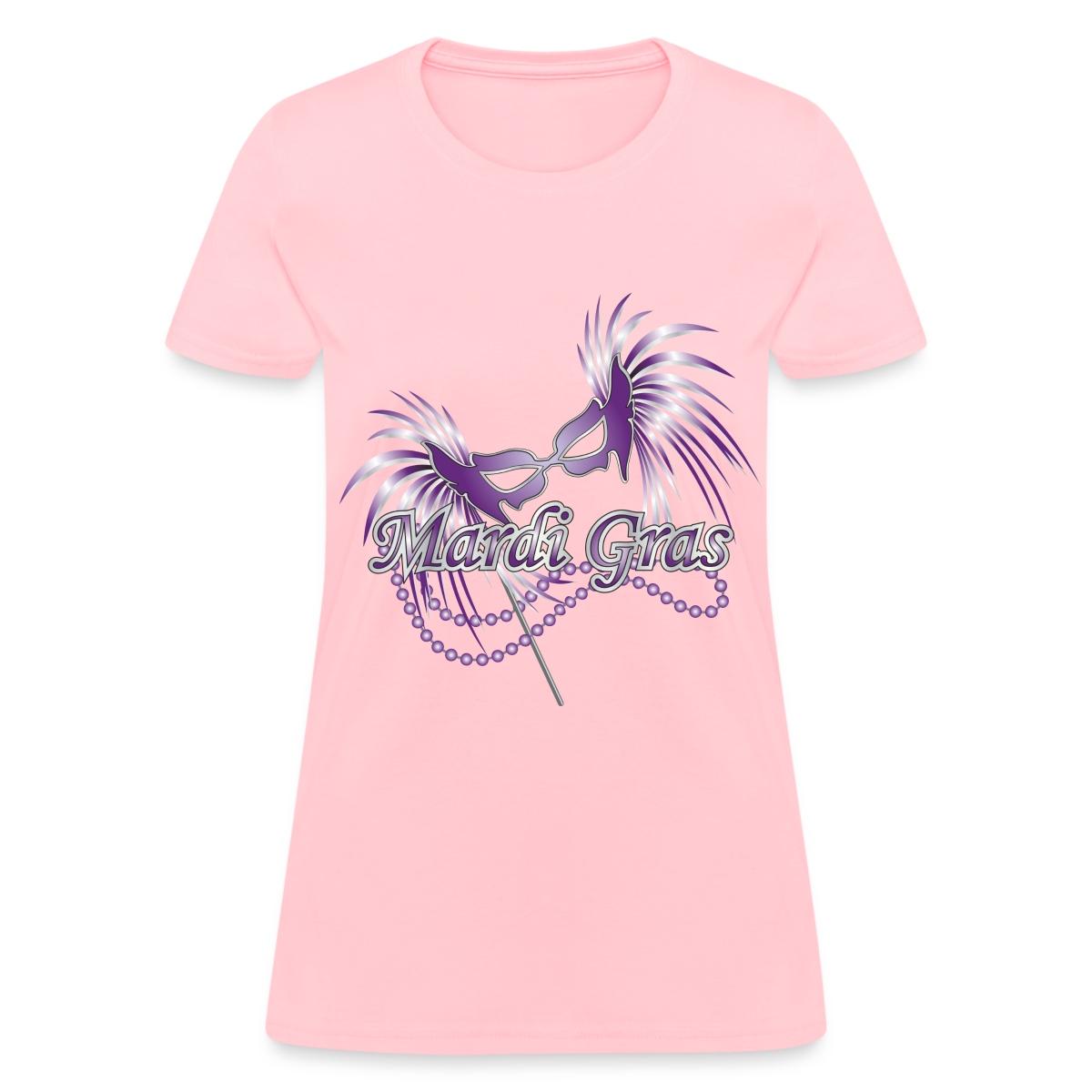Mardi Gras Mask Women 39 S T Shirt Ebay