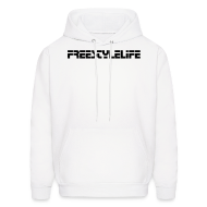 Hoodies ~ Men's Hooded Sweatshirt ~ Men's Hooded Sweatshirt/Black Lettering