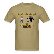 T-Shirts ~ Men's Standard Weight T-Shirt ~ Monkey Island: Three-headed Monkey