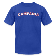 T-Shirts ~ Men's T-Shirt by American Apparel ~ CAMPANIA Region T, Royal Blue