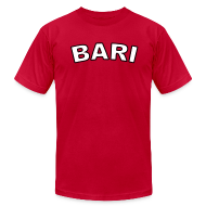 T-Shirts ~ Men's T-Shirt by American Apparel ~ Bari Region T, Red