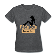 Women's T-Shirts ~ Women's Standard Weight T-Shirt ~ Ride Me - Cowgirl: Women's Bargain T Shirt