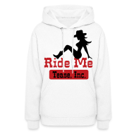 Hoodies ~ Women's Hooded Sweatshirt ~ Ride Me - Cowgirl: Women's Pullover