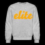 Long Sleeve Shirts ~ Men's Crewneck Sweatshirt ~ elite