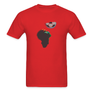 T-Shirts ~ Men's Standard Weight T-Shirt ~ 2010 World Cup South Africa t-shirt