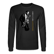 Long Sleeve Shirts ~ Men's Long Sleeve T-Shirt ~ John Coltrane - A Love Supreme - Black Long Sleeve Tee
