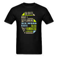 T-Shirts ~ Men's Standard Weight T-Shirt ~ Men's Six Memoir Tee