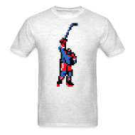 T-Shirts ~ Men's Standard Weight T-Shirt ~ The Goal Scorer - Blades of Steel