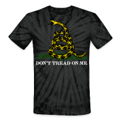 Spider black Don't Tread On Me T-Shirts
