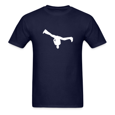 Navy breakdance T-Shirts