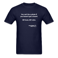 T-Shirts ~ Men's Standard Weight T-Shirt ~ JASON SPECIAL: You can't be a pirate