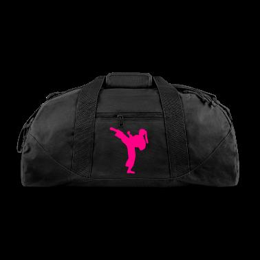 Karate Girl Duffle Bag
