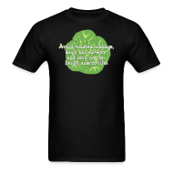 T-Shirts ~ Men's Standard Weight T-Shirt ~ Avoid Roasted Cabbage - Men's T-shirt