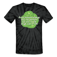 T-Shirts ~ Unisex Tie Dye T-Shirt ~ Avoid Roasted Cabbage - Unisex Tie Dye T-shirt