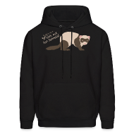 Hoodies ~ Men's Hooded Sweatshirt ~ Watch out for ferrets! Unisex Hooded Sweatshirt