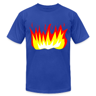T-Shirts ~ Men's T-Shirt by American Apparel ~ Men - Fire