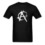 T-Shirts ~ Men's Standard Weight T-Shirt ~ Anarchy Circle-A