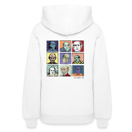 Hoodies ~ Women's Hooded Sweatshirt ~ Ladies Hooded Pekar Sweat Shirt